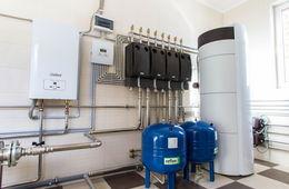 Монтаж системы отопления в коттедже Апрелевка