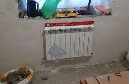 Монтаж радиатора отопления в частном доме Апрелевка