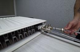 Монтаж радиаторов отопления с нижней подводкой Апрелевка