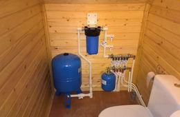 Монтаж водоснабжения в частном доме Апрелевка