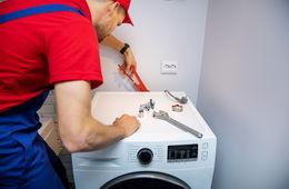 Подключение стиральной машины к коммуникациям Апрелевка