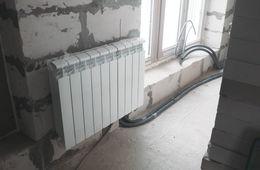 Замена радиаторов отопления в квартире Апрелевка